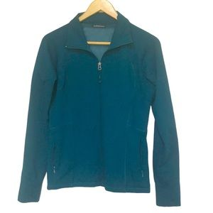 Ellen Tracy Active dark teal athletic jacket M
